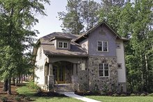 House Plan Design - Craftsman Exterior - Front Elevation Plan #453-9