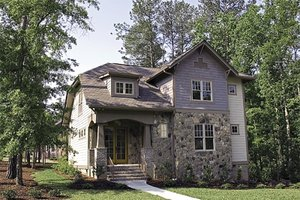 Craftsman Exterior - Front Elevation Plan #453-9