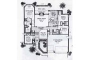 Traditional Style House Plan - 3 Beds 2.5 Baths 2214 Sq/Ft Plan #310-934 Floor Plan - Main Floor