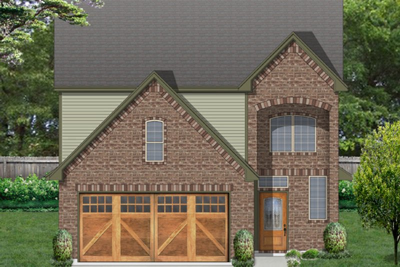 Traditional Exterior - Front Elevation Plan #84-573 - Houseplans.com