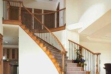 Craftsman Interior - Entry Plan #1042-1