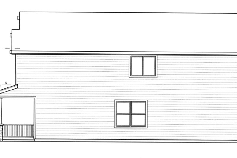 Prairie Exterior - Other Elevation Plan #509-226 - Houseplans.com