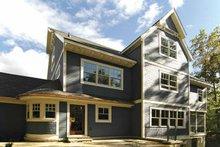 House Plan Design - Craftsman Exterior - Rear Elevation Plan #928-30