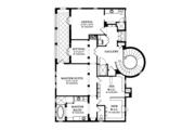 Mediterranean Style House Plan - 3 Beds 4.5 Baths 4509 Sq/Ft Plan #1058-14 Floor Plan - Upper Floor