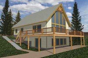 Modern Exterior - Front Elevation Plan #117-267