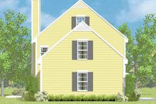 House Blueprint - Colonial Exterior - Other Elevation Plan #72-1104
