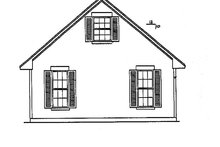 Classical Exterior - Other Elevation Plan #472-359