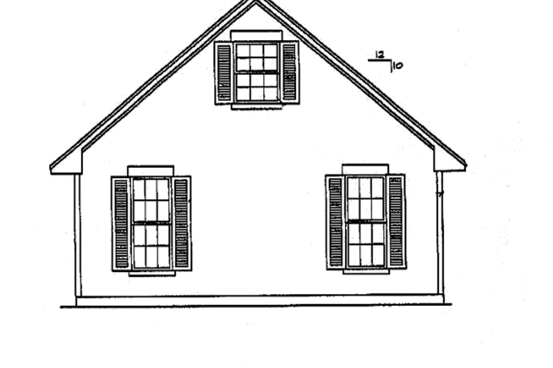 Classical Exterior - Other Elevation Plan #472-359 - Houseplans.com