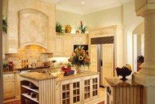 Dream House Plan - Mediterranean Interior - Kitchen Plan #930-320