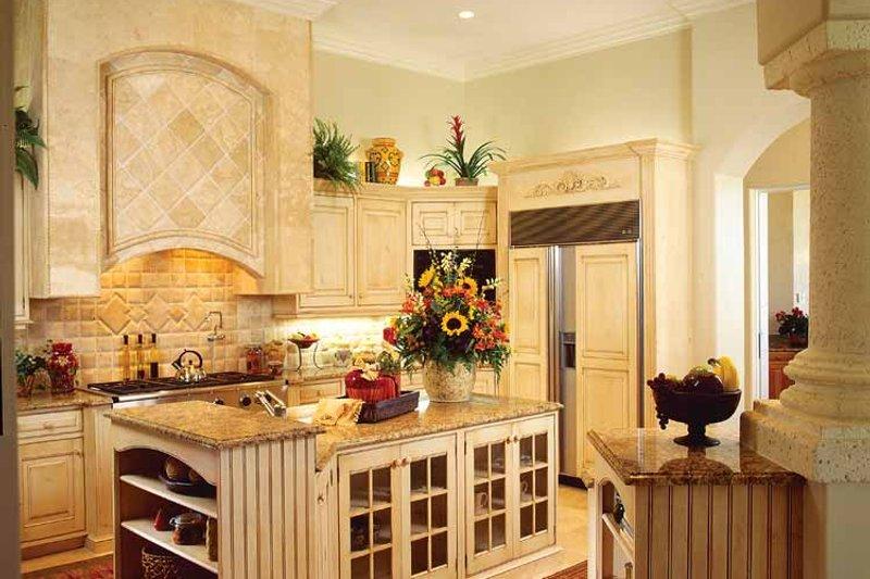 Mediterranean Interior - Kitchen Plan #930-320 - Houseplans.com