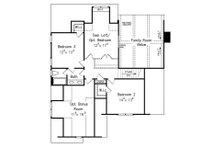 European Floor Plan - Upper Floor Plan Plan #927-18