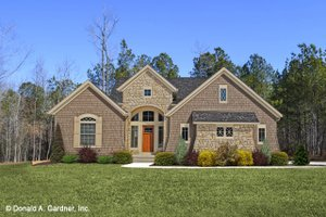 Dream House Plan - European Exterior - Front Elevation Plan #929-830