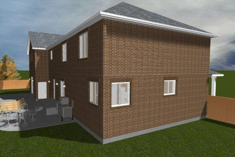 Traditional Exterior - Other Elevation Plan #1060-18 - Houseplans.com
