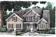 House Plan Design - European Exterior - Front Elevation Plan #927-646