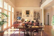 Classical Interior - Family Room Plan #137-307