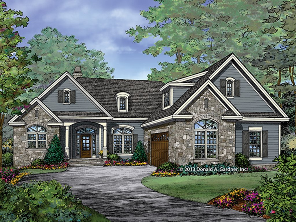 Craftsman style house plan 3 beds 2 baths 1986 sq ft for Homplans