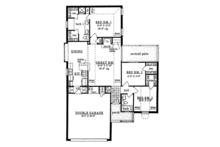 Ranch Floor Plan - Main Floor Plan Plan #42-583
