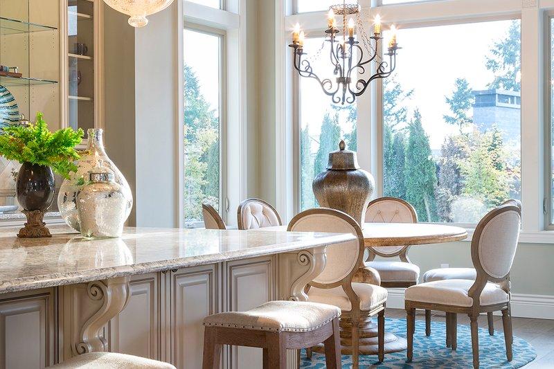 European Interior - Dining Room Plan #48-650 - Houseplans.com