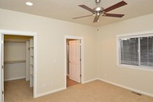 House Plan Design - Craftsman Interior - Bedroom Plan #124-1210