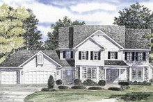 House Plan Design - Country Exterior - Front Elevation Plan #316-151