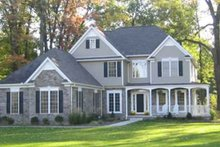 House Plan Design - Country Exterior - Front Elevation Plan #927-88