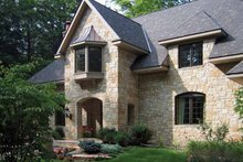 Architectural House Design - Country Exterior - Front Elevation Plan #928-114