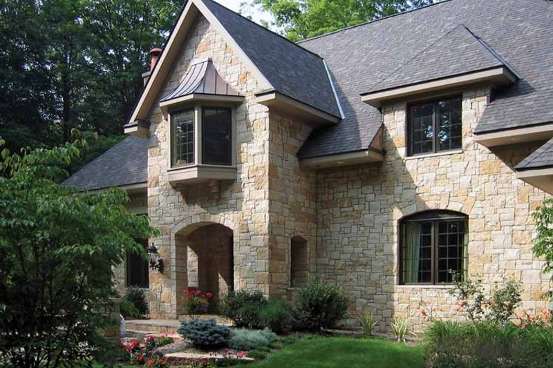 Country Exterior - Front Elevation Plan #928-114 - Houseplans.com