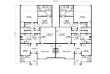 Traditional Floor Plan - Main Floor Plan Plan #17-2401