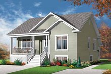 House Plan Design - Country Exterior - Front Elevation Plan #23-2559