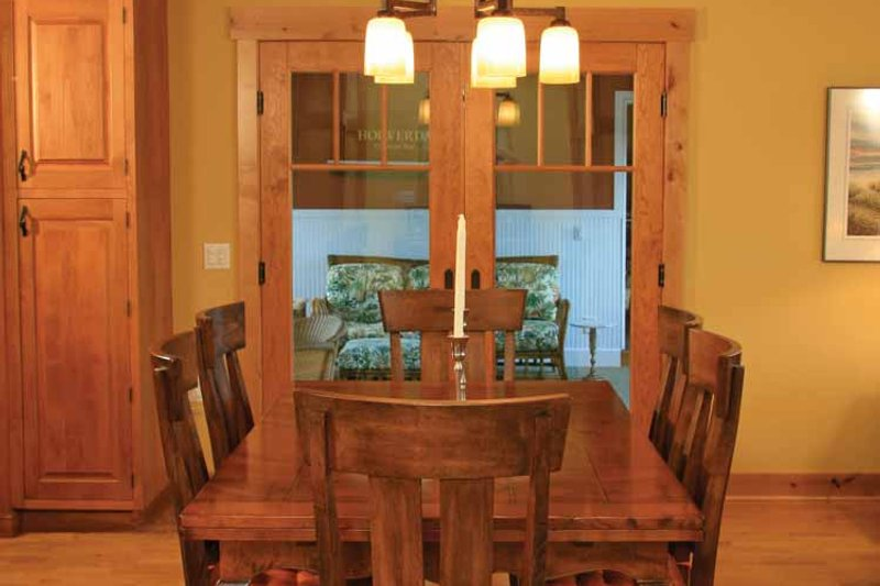 Craftsman Interior - Dining Room Plan #928-112 - Houseplans.com