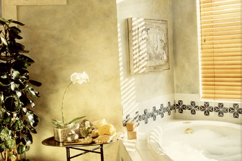 Mediterranean Interior - Master Bathroom Plan #417-796 - Houseplans.com