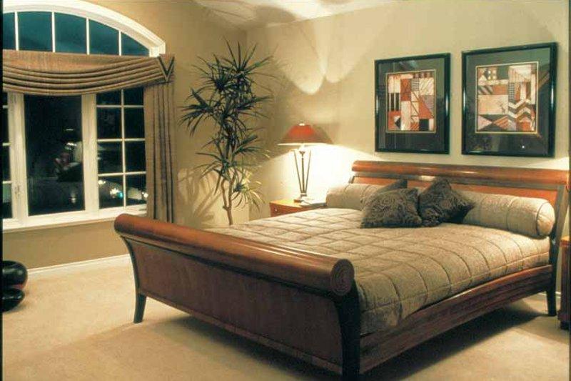 Mediterranean Interior - Bedroom Plan #47-895 - Houseplans.com