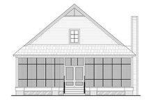 Farmhouse Exterior - Rear Elevation Plan #21-227