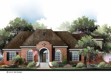 Home Plan - Country Exterior - Front Elevation Plan #952-280