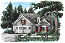 Ranch Exterior - Front Elevation Plan #927-259