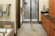 European Style House Plan - 4 Beds 4 Baths 2263 Sq/Ft Plan #929-891 Interior - Master Bathroom