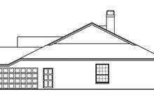 House Plan Design - Mediterranean Exterior - Other Elevation Plan #999-29