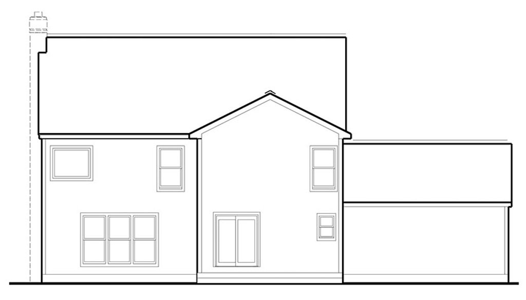 Colonial Front Elevation : Colonial front elevation house coloring pages