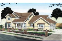 House Plan Design - Traditional Exterior - Front Elevation Plan #513-2126