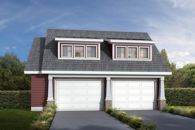 House Design - Craftsman Exterior - Front Elevation Plan #1073-10