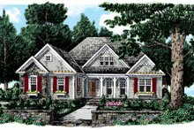 House Plan Design - Country Exterior - Front Elevation Plan #927-108