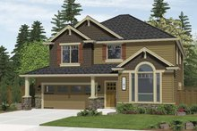 Architectural House Design - Craftsman Exterior - Front Elevation Plan #943-4