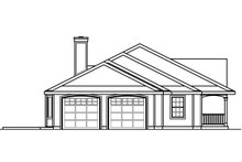 Country Exterior - Other Elevation Plan #124-1023