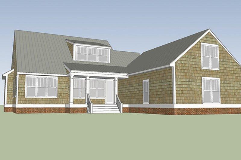 Colonial Exterior - Rear Elevation Plan #991-26 - Houseplans.com