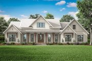 Farmhouse Style House Plan - 3 Beds 2.5 Baths 2553 Sq/Ft Plan #430-204 Exterior - Front Elevation