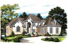 Home Plan - Traditional Exterior - Front Elevation Plan #453-420