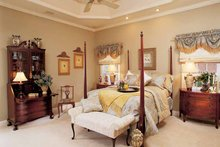 House Plan Design - Country Interior - Master Bedroom Plan #952-275