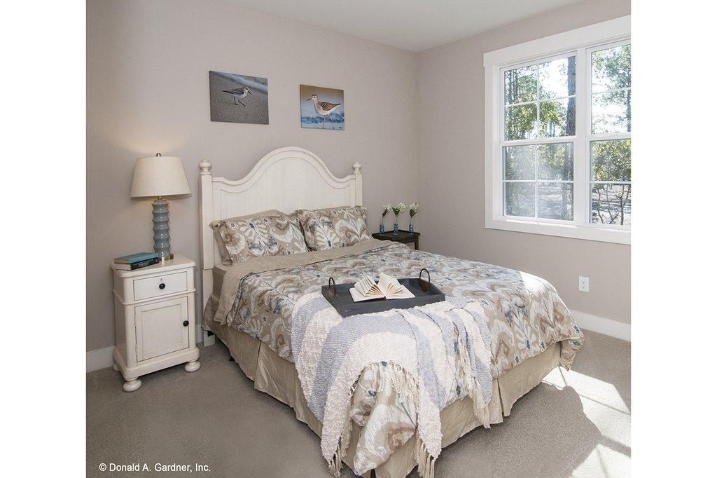 European Style House Plan - 4 Beds 3 Baths 2195 Sq/Ft Plan