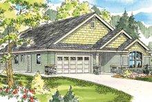 Craftsman Exterior - Front Elevation Plan #124-783