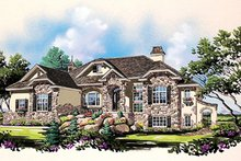 Bungalow Exterior - Front Elevation Plan #5-281